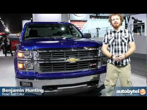 2014 Chevrolet Silverado Z71 at the 2013 Detroit Auto Show