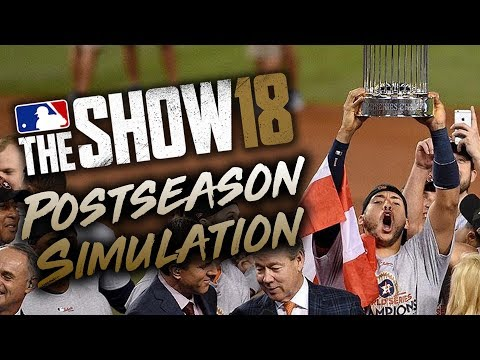 MLB The Show 18 Predicts the 2018 MLB Postseason