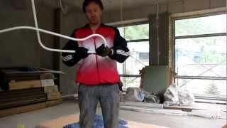 Как согнуть металлопластиковую трубу без спец. инструментов?