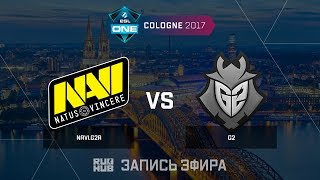 Navi.G2A vs G2 - ESL One Cologne 2017 - map1 - de_overpass [ceh9, Enkanis]