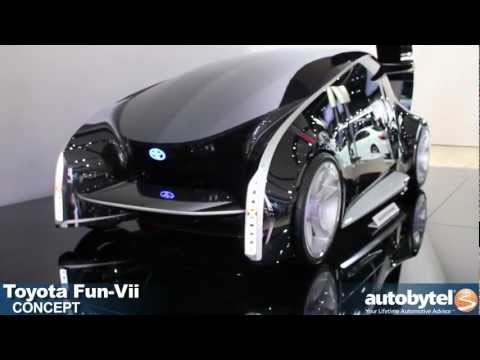Toyota Fun-Vii concept at the 2012 Detroit Auto Show video