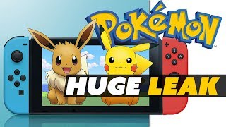 Pokémon: Let's Go! for Switch LEAKS! Everything You Need to Know - Game News