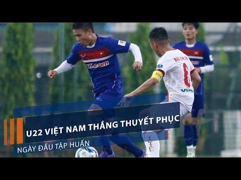 U22 Việt Nam thắng thuyết phục ngày đầu tập huấn | VTC1 - Thời lượng: 41 giây.