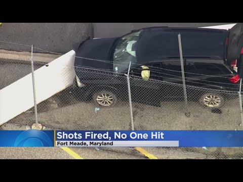 Shots Fired, None Hit Outside NSA Building