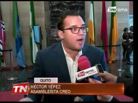 Presidente Litardo no descarta llevar a juicio político al CNE