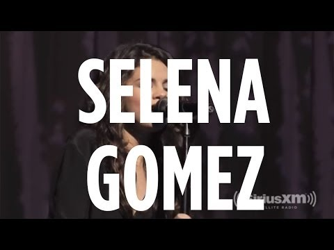 "Selena Gomez covers Priscilla Ahn ""Dream"" during SiriusXM Hits 1 Soundcheck"