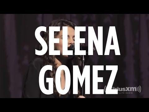 "Selena Gomez covers Priscilla Ahn ""Dream"" during SiriusXM Hits 1 Soundcheck"
