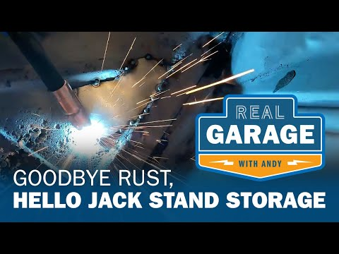 Real Garage: Goodbye Rust, Hello Jack Stand Storage (Season 1, Episode 1)