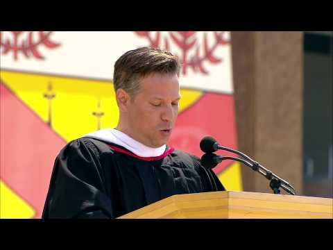 Richard Engel gives commencement speech