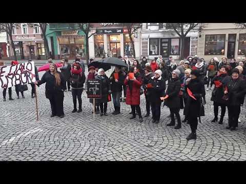 Wideo1: Czarny Piątek w Lesznie 1
