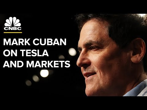 Mark Cuban On Tesla Going Private, Staying Out Of The Market | CNBC