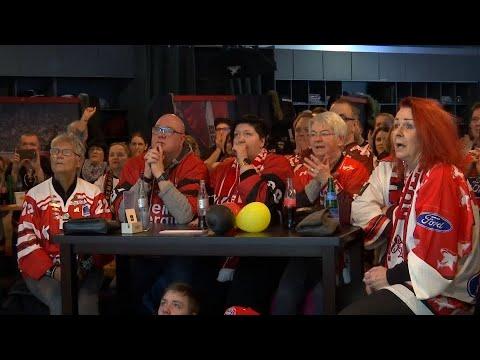 Kölner Eishockeyfans sind stolz auf Olympisches Sil ...