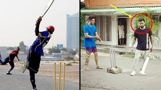 Video Cricketers Playing Street Cricket Compilation | Virat Kohli, Ms Dhoni,  Shahid Afridi MP3, 3GP, MP4, WEBM, AVI, FLV Maret 2018