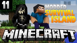 MASS LUCKY BLOCKS! [11] ( Modded Survival Island ) w/AciDic BliTzz&Taz!