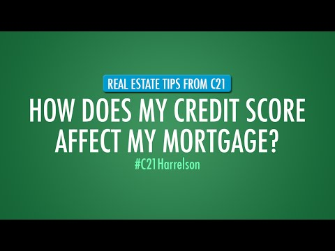 How Does My Credit Score Affect My Mortgage?