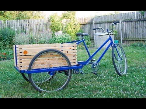 Как сделать велосипед грузовым