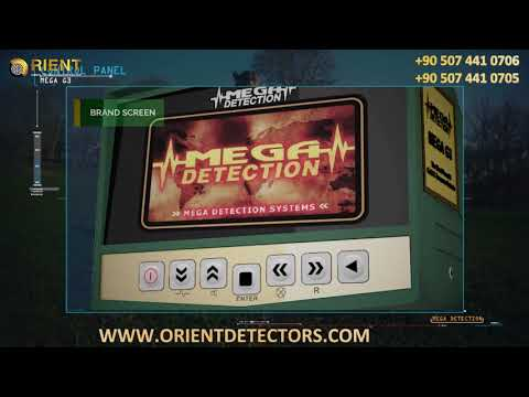 MEGA G3 Gold Detector -  New Version 2019 | Control Panel Explanations