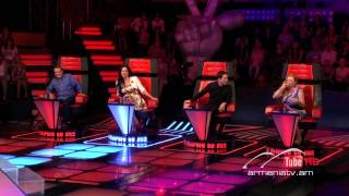 Tigran Hovhannisyan,At last by Etta James -- The Voice of Armenia – The Blind Auditions – Season 3