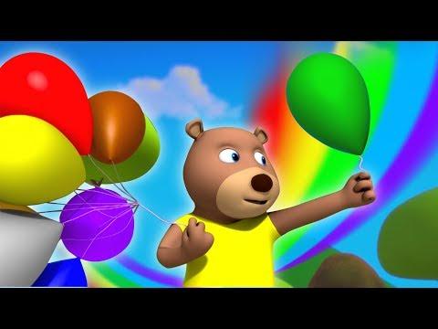 Gubbare Wala   गुब्बारे वाला   Hindi Poem   Gubbare Wala Hoo   Hindi Nursery Rhymes   Kids TV India