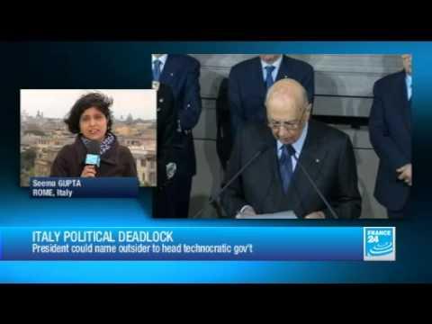 Italy holds new talks to break political deadlock