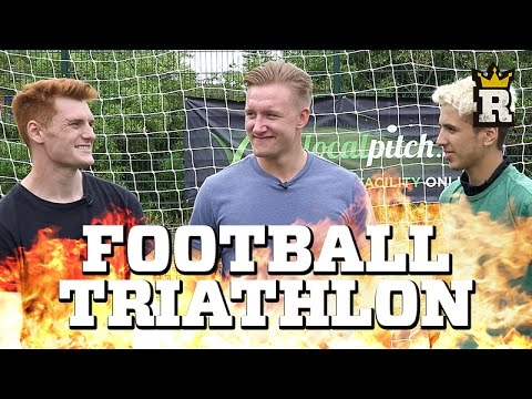 FOOTBALL TRIATHLON CHALLENGE – The Ultimate Time Trial | Rule'm Sports