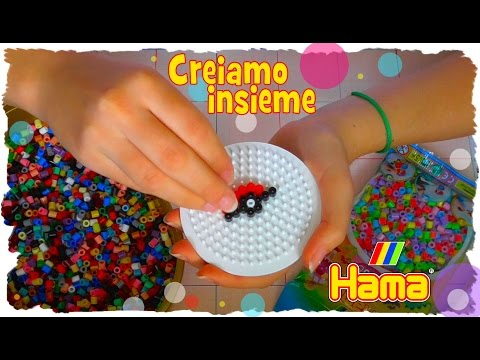 Creiamo insieme con le perline da stirare Hama Beads