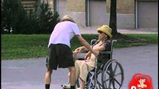 Just For Laughs TV - Stuck Wheelchair