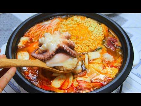 갓소스 한국 김치 해물 전골 (오늘은 뭐 먹지?)
