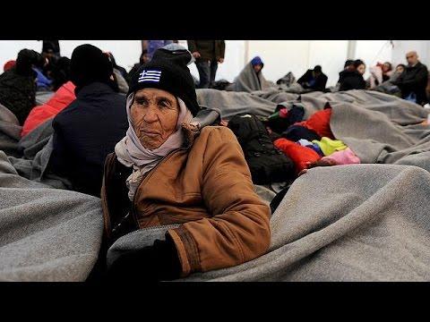 Ελλάδα: Εγκλωβισμένοι πρόσφυγες και μετανάστες στα σύνορα με ΠΓΔΜ