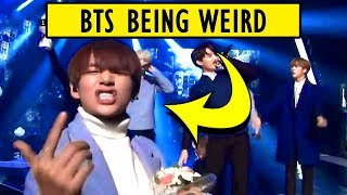 Video They're not weird, They're just BTS 😆 MP3, 3GP, MP4, WEBM, AVI, FLV Agustus 2019