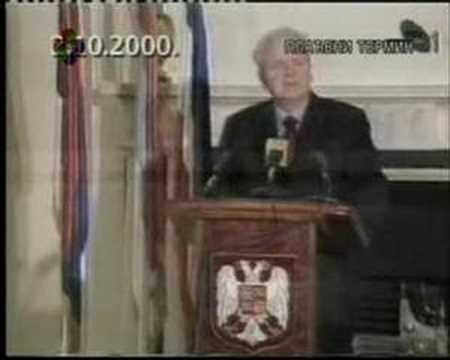 Слободан Милошевић - обраћање 2. Октобра 2000.