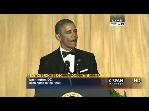 President Obama remarks at 2014 White House Correspondents