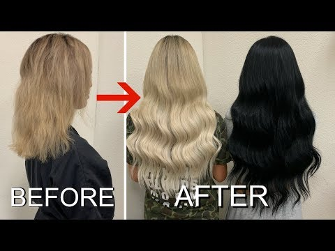 Hairdresser - OUR LIFE CHANGING HAIR TRANSFORMATION
