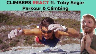 Toby Segar breaks down famous parkour & Climbing clips || BoulderingBobat by Bouldering Bobat