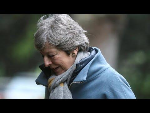 Brexit: Συναντήσεις Μέι με Μέρκελ και Μακρόν