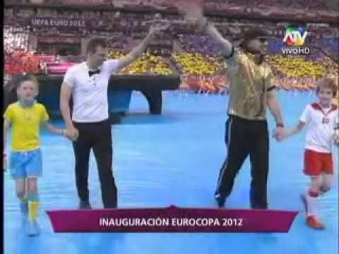 Ucrania y Polonia anfitriones de la Eurocopa 2012: Ceremonia de apertura