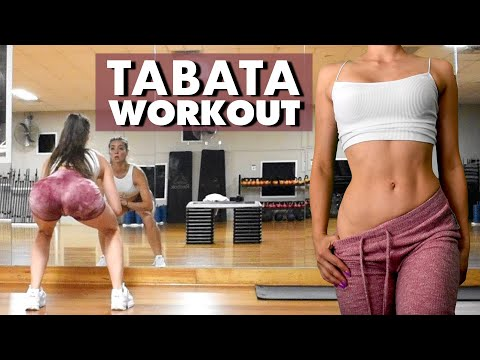 4 MIN TABATA Workout | Fat Burning High Intensity Weight Loss Routine | No Gym Full Body Workout