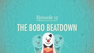 The Bobo Beatdown - Crash Course Psychology #12 - YouTube