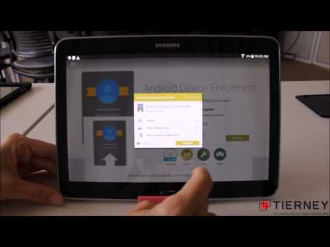 Samsung Tab 4 Google Play for Education Tablet Provisioning - Multiple Students per Device