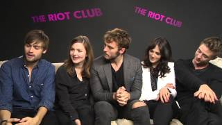 The Riot Club Cast Answer Fans Tweeted Questions   Glamour Uk