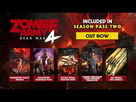 Zombie Army 4: Dead War▐ Damnation Valley (Season 2 is out now) PC, PlayStation 4, Xbox One, Stadia