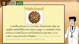 สื่อการเรียนการสอน อ่านเสริมเติมความรู้เรื่อง ไวรัสตับอักเสบ ป.6 ภาษาไทย