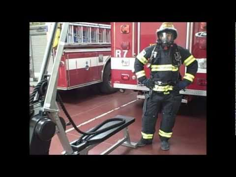 Train Like Your Life Depends On It - Woodside Fire Protection on MARPO VMX Rope Trainer