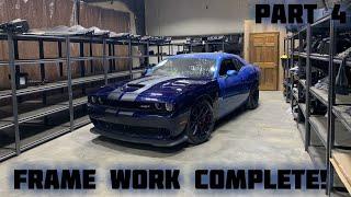 Rebuilding a Wrecked 2016 Dodge Hellcat Part 4
