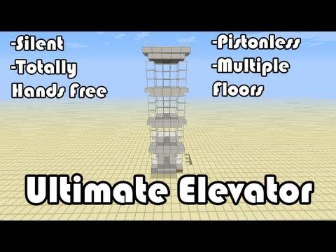 Ultimate Multi Floor Elevator Command Block Elevator 1