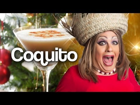 How To Make Coquito – Cooking with Drag Queens