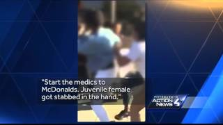 Pittsburgh police are investigating two fights in East Liberty Sunday night. One took place outside Midas on Station Street. The other happened at a McDonald...