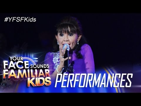 Your Face Sounds Familiar Kids: Awra Briguela as Mommy Dionesia Pacquiao (видео)
