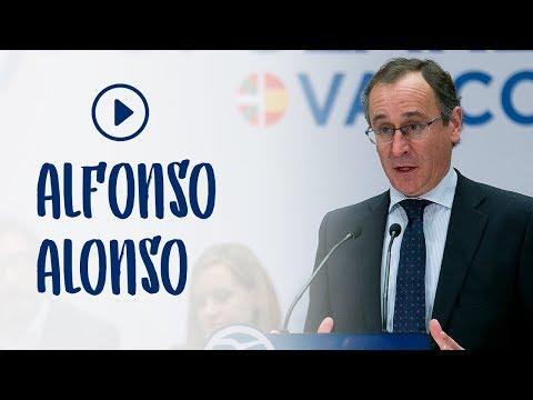 """Alonso: """"Somos la garantía de que no se discurra en el País Vasco por un camino de radicalidad"""""""