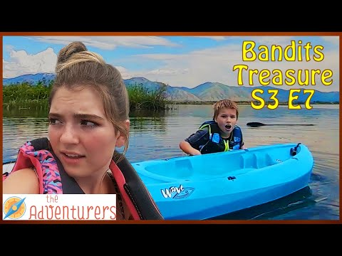 Searching The River For Treasure TY FELL iN THE RiVER! Bandits Treasure S3 E7